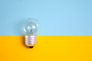A bulb ready to be used.