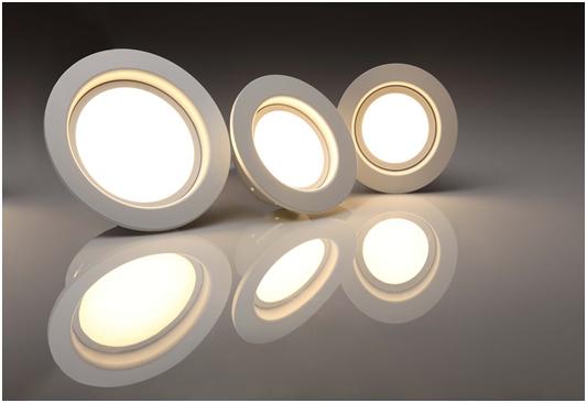 Three bright LED Lights