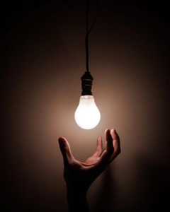 changing a flickering bulb